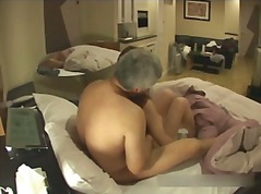HiddenCam - Old Japanese man fuck cal...