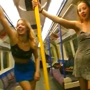Xhamster - Flashing on the London...