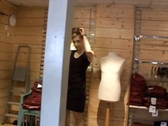 Blackmailed Saleswoman... video