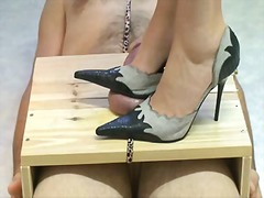 High heels torturing cock preview