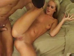 Sweet cum taking after tight anus drilling