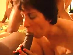 See: Peg does a black cock ...