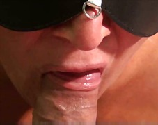 Sensual blowjob close up video