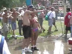 Thumb: Fun at a Nudist rally 11