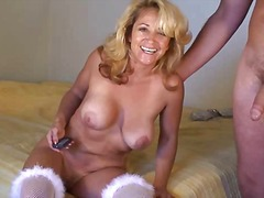 Doggystyle mature blonde video