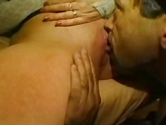 Mature blonde double t... video