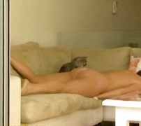 Horny female orgasms t...