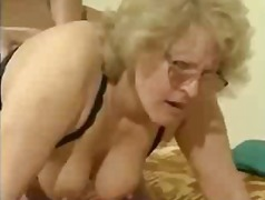 BBW Granny Grandma in ... video