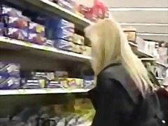 Wife flashing in super...
