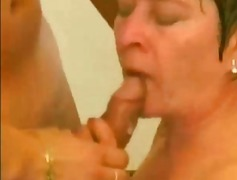 Real True Granny and BF video