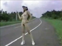Nude Jap Hitchhiker