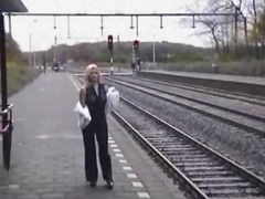 Thumb: Public nudity track strip
