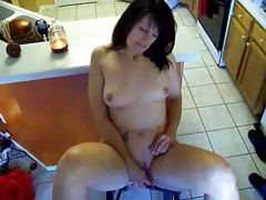 Xhamster - Woman masturbates in k...