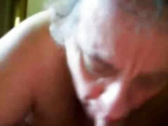 Thumbmail - My granny suck my cock...