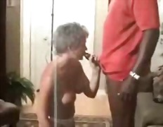 black and ebony, amateur, cream pie,