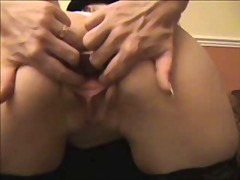 amateur, stockings, masturbation,