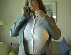 Busty Business Woman preview