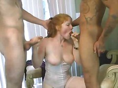 redheads, amateur, group sex, big boobs,
