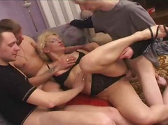 MOTHER GANGBANGED BY S... preview