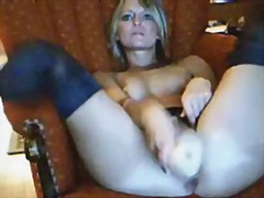 Mature toy webcam video
