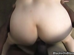 White mom butt fucked and cum covered...