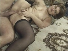 Anal orgy with hot old...