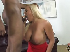Mature mother Alexis Golden takes BBC...