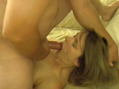 Hot wife anal and facial