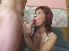 Horny Milf Gets Fucked And Facialled !
