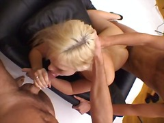 angell summers,  double penetration, french, anal,