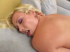 Thumbmail - Adrianna toys her puss...