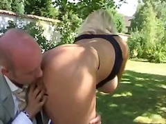 Xhamster Movie:French mature in the garden
