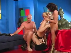 Threesome with annette... video