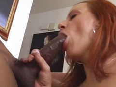 Sloppy Hole MILF gets BBC Anal