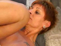 Hot Redhead Mature Assfucked by snahb...