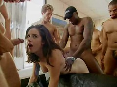 Gang bang Girl30 part1