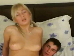 Thumb: Very Hot Blonde Teen F...