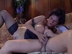 Busty MILF Sucks And Fucks... - 05:06