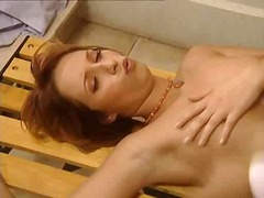 Hot french redhead get... video