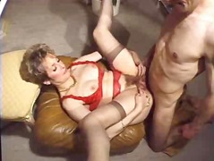 French mature  woman a...