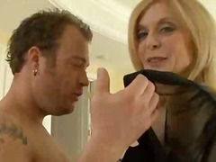 Porn Queen Nina Hartley.