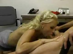 Anal office Sex