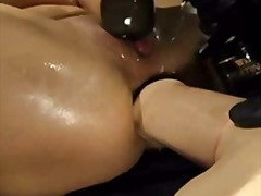 Xhamster Movie:Enormous big dildo in the ass ...