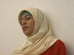 ARAB Muslim HIJAB Turbanli  Girl 1 - NV