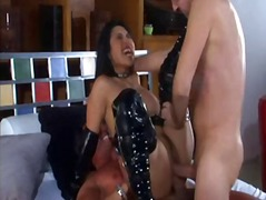 latex, asian, mika tan, threesomes