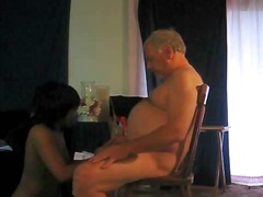 Xhamster Movie:Old Man gets show and action
