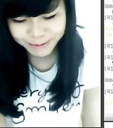 Korean web cam girl video