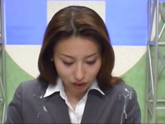 Japanese newsreader bu... video