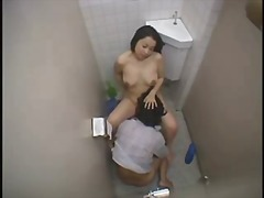 Asian Teen Cleaning Up Some Dick...F70
