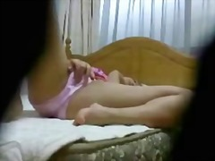 Hidden Asian Teen Masturbation